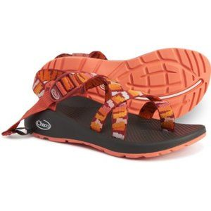 NWT Chaco Z2 Classic Sandals Orange Red